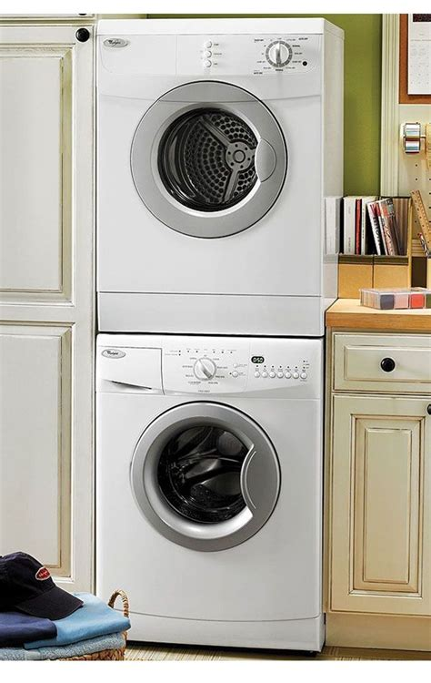 stackable washer and dryer cabinet small laundry room without worry with smallest