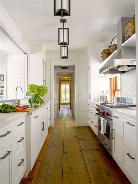 cottage galley kitchen design ideas photo page hgtv