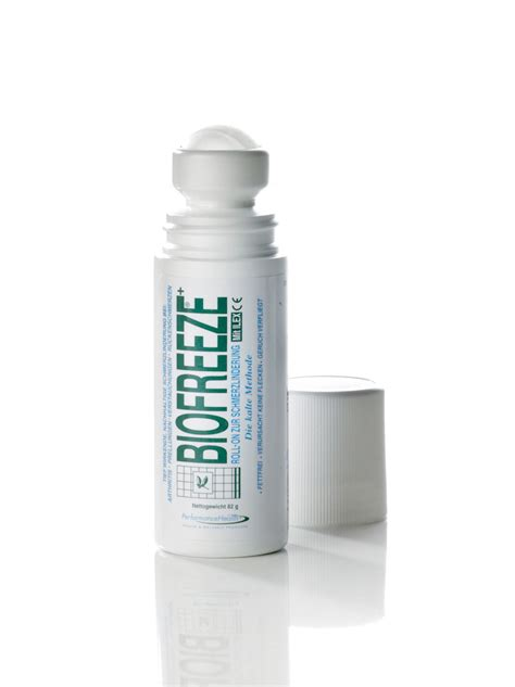S E N Gel by Biofreeze Schmerzgel Roll On 82 G Artzt Eu