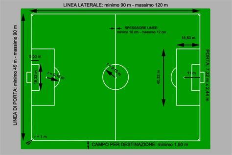 misura porta calcio il co di calcio sportascuola