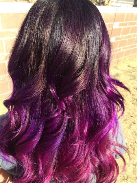 ombre with pravana vivids pravana wild orchid ombre www imgkid com the image kid