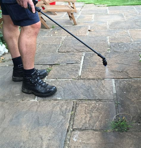 Patio Weedkiller by We Provide Treatments For On Surfaces Also