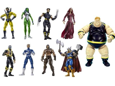 Pajangan Figure Marvel Set 6 hasbro finally got marvel legends on the right path