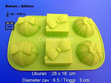 Cetakan Silikon Puding Kue Gift cetakan silikon puding kue gift 6 cavity i cetakan jelly cetakan jelly