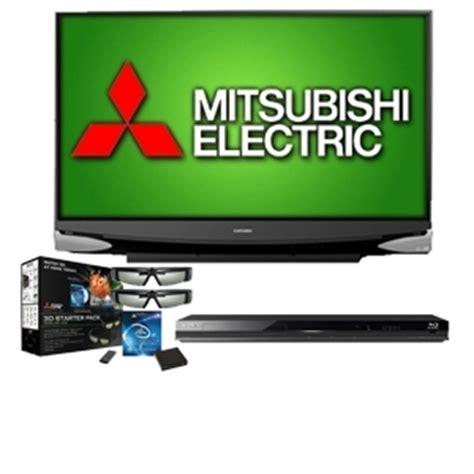 mitsubishi wd65638 65 3d ready home cinema dlp tv