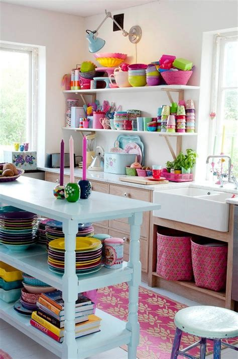 7 Tips On Your Home More Colorful by Open Shelving 7 Tips For Getting It Right At Home In