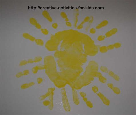handprint craft for handprint crafts