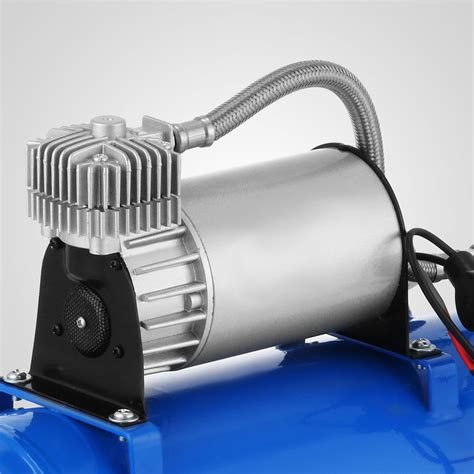 150 db loud 4 trumpet air horn 1 6 gal compressor for truck great ebay