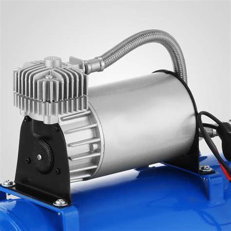 150 Db Loud 4 Trumpet Train Air Horn 1.6 Gal Compressor For TRUCK Great   eBay
