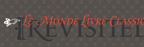 Monde Classical le monde livre classic revisited typofonderie