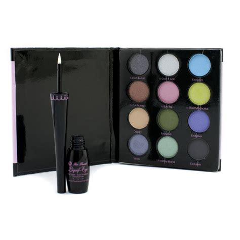 Cargo Liquid Shadow Collection by Faced Liquif Eye Shadow Collection 12 X Eye Shadow 1