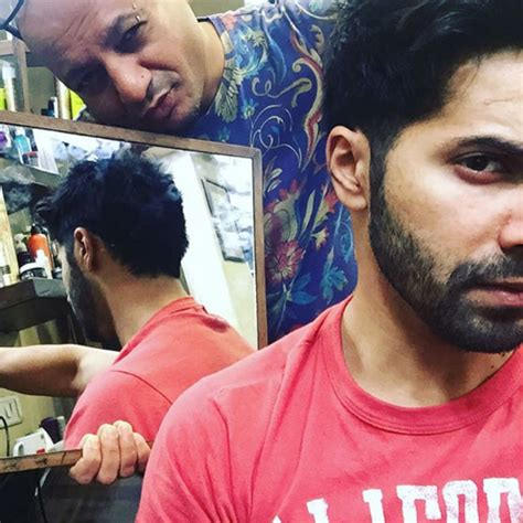 varun dhawan new hairstyle varun dhawan s new hairstyle personal photos varun