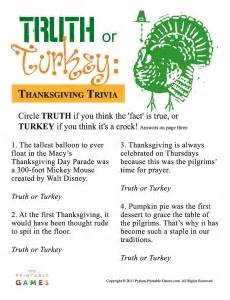 thanksgiving day trivia questions answers pics photos printable thanksgiving quiz games