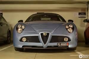 Alfa Romeo 8c Price Alfa Romeo 8c Spider 22 November 2016 Autogespot