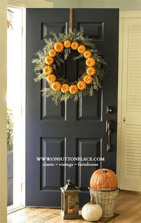door decorations for fall 21 diy fall door decorations diy ready