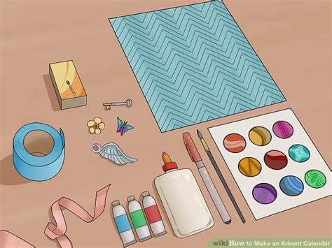 how to make a advent calendar 3 ways to make an advent calendar wikihow