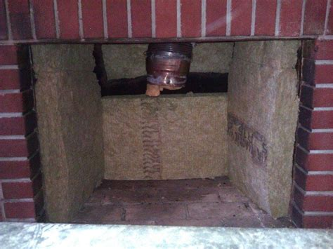 Insulating A Fireplace by New Wood Stove Insert Cannot Heat Basement Past 70