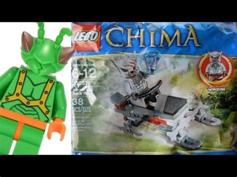 Lego Chima 30251 Winzar S Pack Patrol Polybag lego legends of chima winzar s pack patrol polybag review 30251