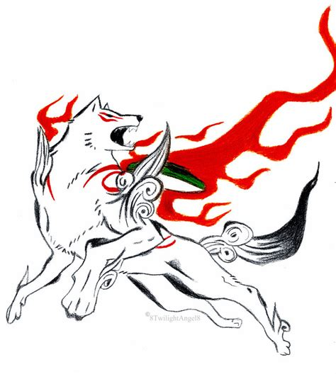 okami amaterasu the sun god by 8twilightangel8 on deviantart