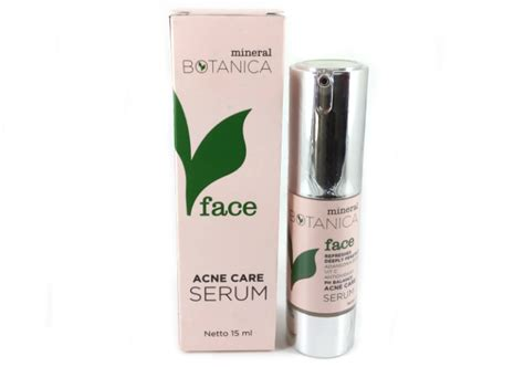 Serum Mineral Botanica review mineral botanica acne care serum yukcoba in