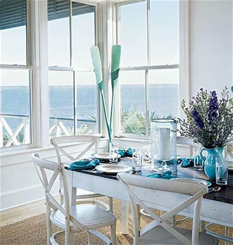 Dining Room Coastal Decor Decorative Wooden Oars And Decorating Ideas Nautical