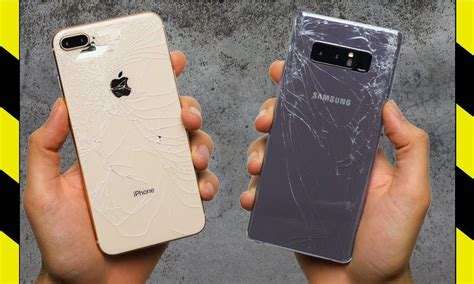 iphone 8 deemed more durable than samsung galaxy note 8