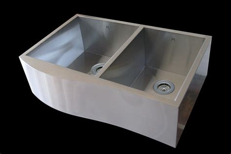 stainless steel kitchen sinks mila stainless steel sinks abode