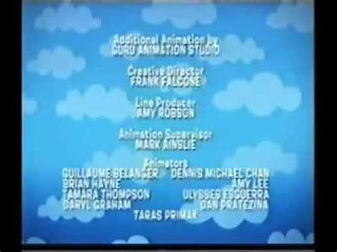 Backyardigans End Credits In The Big Blue House Closing Credits Funnydog Tv