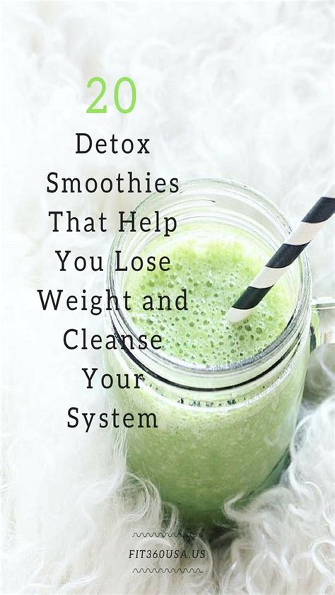 Diy Detox Smoothie For Weight Loss by 25 Best Ideas About Detox Smoothies On Detox