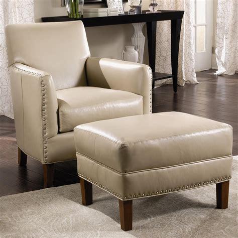 sam moore leather sofa sam moore calvin leather chair ottoman with nailhead