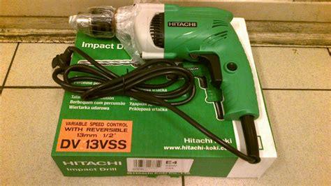 Mesin Bor Hitachi 13 Mm jual mesin bor tembok hitachi dv13vss tech