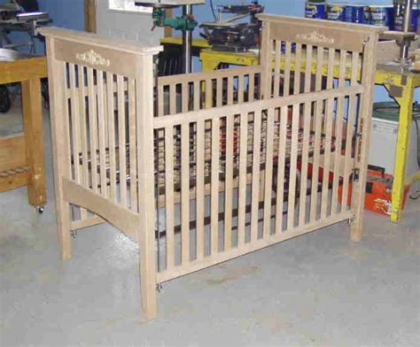 Plans For Baby Crib by Crib Plans Woodworking Plans Free