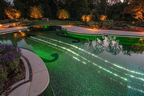 posh  swimming pool shaped   stradivarius violin