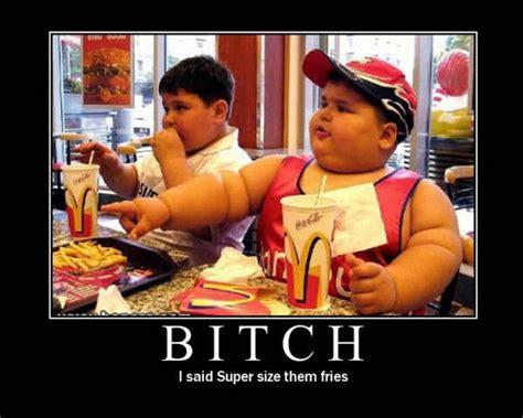 McDonalds makes kids FAT