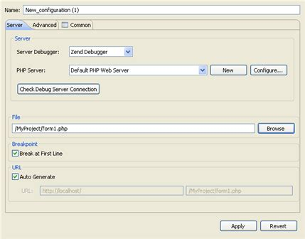 configure xp with eclipse pdt working with the debugger