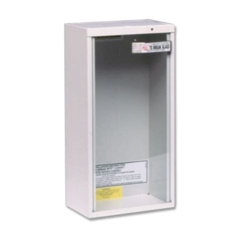 wall mounted extinguisher cabinet kidde wall mount 5 pound extinguisher cabinet new ebay