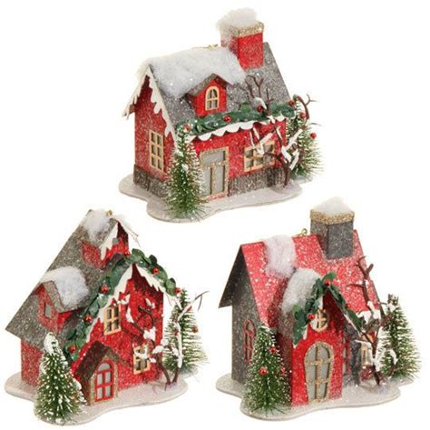 house ornaments 1000 ideas about cardboard houses on