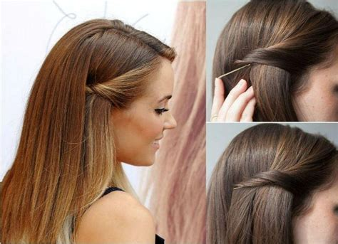Hairstyles With Bobby Pins by 15 Best Collection Of Hairstyles With Bobby Pins