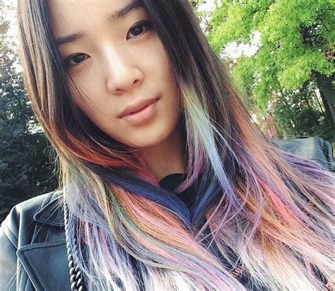 Chinese Bob Haircuts – Ladder Braid Ponytail Hairstyle for Medium Long Hair