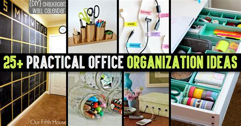practical office design for productivity and aesthetics office organization tips
