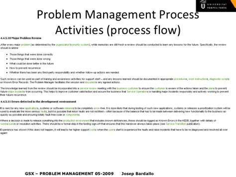 itil v3 problem management
