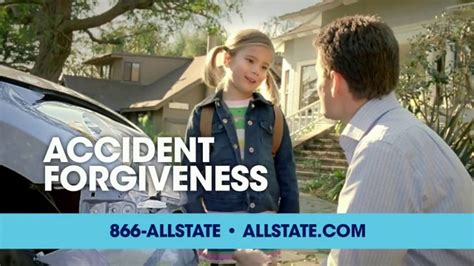 allstate all alone the father driving alone talking and allstate accident forgiveness tv commercial smart girl
