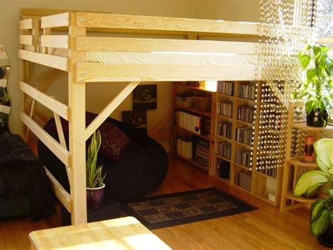 diy loft bed plans   loft bed queen diy