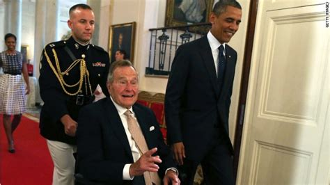 george w bush president 41 obama to bush 41 we are a gentler nation because of you