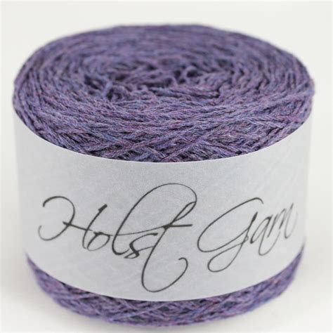Purple 46 Fab Products by Holst Garn Noble Geelong No43 Purple Sky Offer
