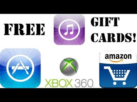 How To Get Itunes Gift Cards For Free - how to get free itunes xbox gift cards no surveys doovi