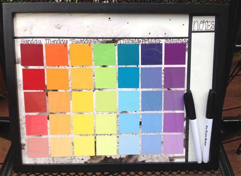 Diy Erase Calendar Diy Erase Calendar With Paint Sles