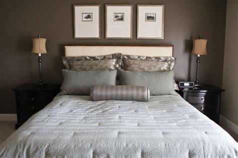 master bedroom custom leather headboard traditional