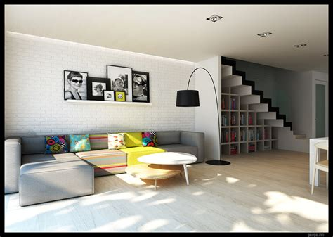 contemporary home interior classy modern interiors visualized by greg magierowsky