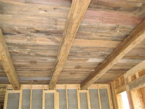 Distressed Wood Ceiling by Pin By Bev Huntington On Home Wants Wishes